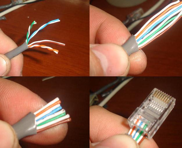 Как сделать сетевой кабель интернет 360